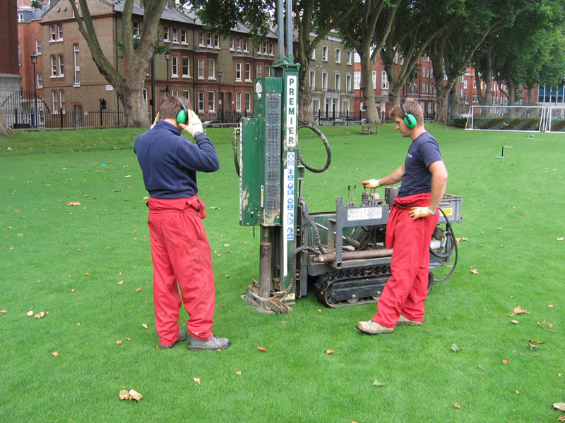 Drilling bore holes gj-westminster-school-003